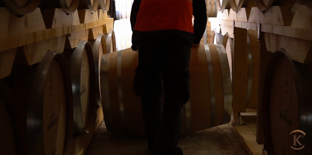 Extraction of a barrel