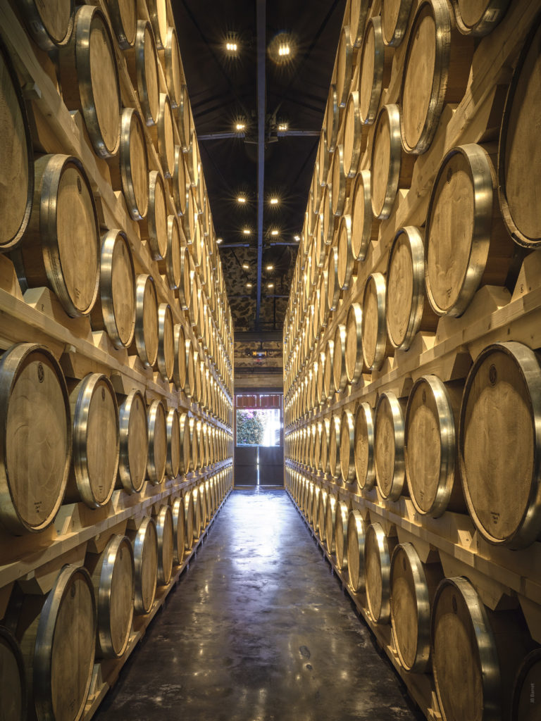Cask storage for rums from Martinique