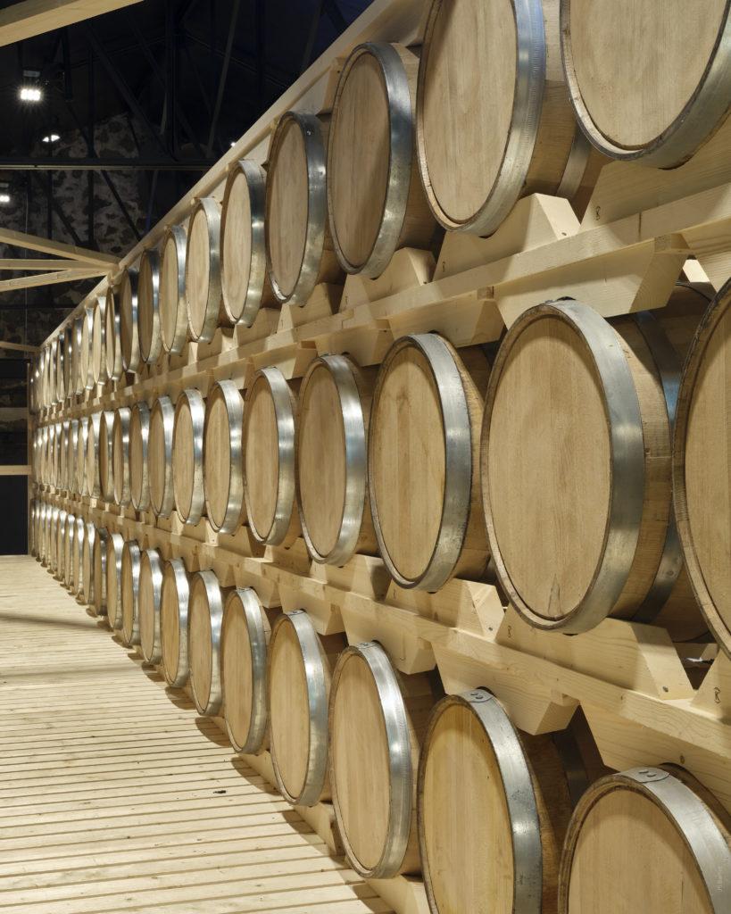 Whisky cask storage