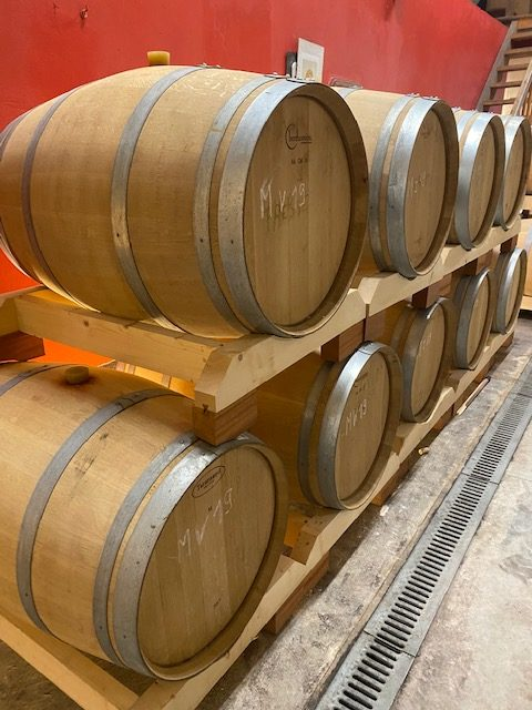Wine and liqueur barrel storage