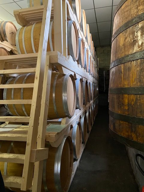 Calvados cask storage