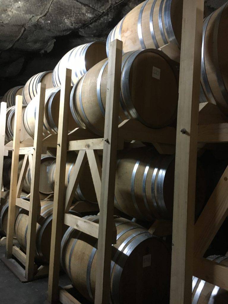 Armagnac barrel storage